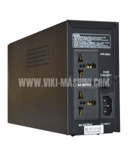 UPS 500 VA ATS - подходящ за всички видове бензинови генератори BULPOWER